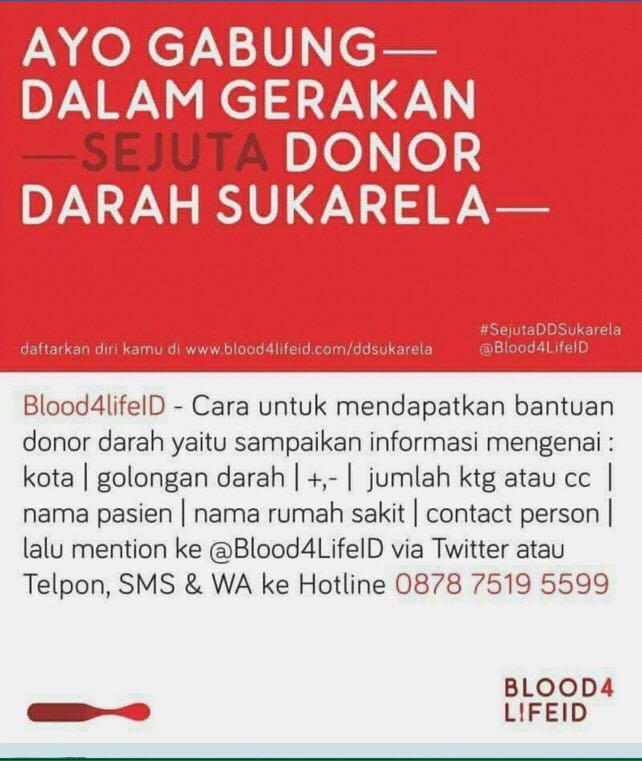 Blood4LifeID Hotline